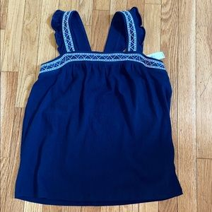 Old Navy blue tank NWT size XXL 16